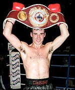 Joe Calzaghe is the WBO super-middleweight champion