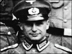Photo of Nazi war criminal Klaus Barbie