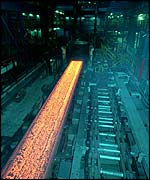 A Welsh steel plant