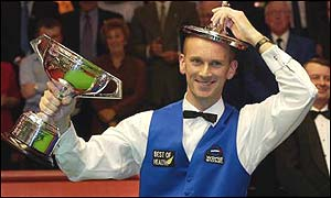 Peter Ebdon won the 2002 World Championship