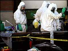 Hazardous materials workers
