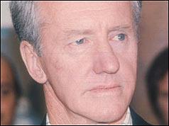 Former Rhodesia Prime Minister Ian Smith