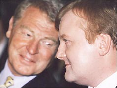 Paddy Ashdown and Charles Kennedy