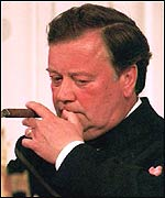 Former Health Secretary Kenneth Clarke