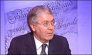 Bank of England deputy chief Mervyn King