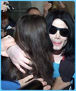 Michael Jackson meets his fans in Germany