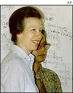 Princess Anne in Cambodia