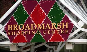 Broadmarsh shopping centre