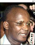 Information Minister Jonathan Moyo