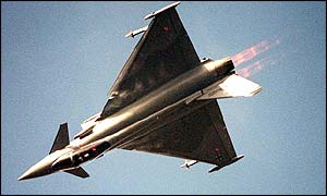 File picture of Eurofighter
