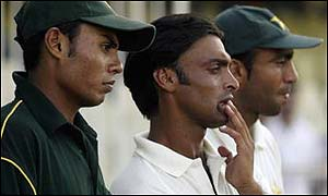 Shoaib Akhtar will miss the one-dayers in Zimbabwe because of injury