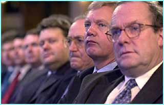 The Shadow Cabinet at the Conservative Party Conference 2001