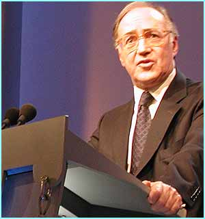 Michael Howard: Leader of the Conservative party