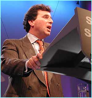 Oliver Letwin: Shadow chancellor