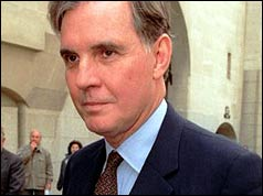 Jonathan Aitken arrives at the Old Bailey