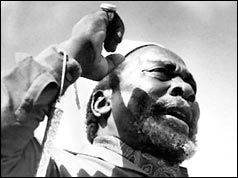Jomo Kenyatta speaking in Nairobi, 1962