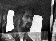 Peter Sutcliffe in his driver's cab