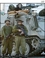 Israeli troops in Bethlehem