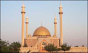 Abuja's central mosque