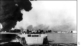 An image from the Suez Crisis of 1956