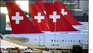 Swissair Jets
