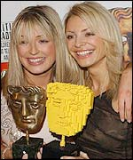 Cat Deeley and Tess Daly