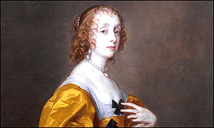 The Van Dyck painting is now worth �1.6m
