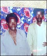 Vincent Otti (l) and Joseph Kony (r)