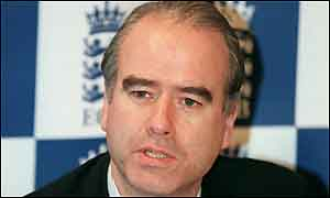 England and Wales Cricket Board chief executive Tim Lamb