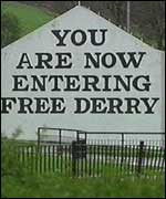 Nationalists have always argued for the name Derry