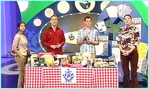 The Blue Peter crew want children to hold bring and buy sales to raise money for the people in Uganda and Tanzania