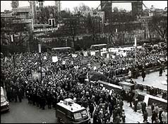 Miners march on Parliament in 1972