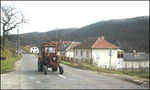 Hungarian tractor