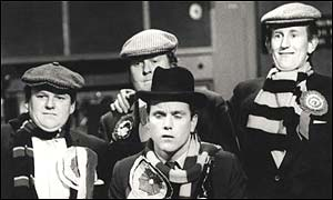 Roy Kinnear, Willie Rushton, Kenneth Cope and Lance Percival