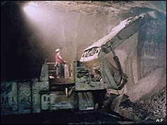 Construction of the Channel Tunnel