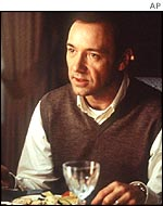 Spacey in American Beauty