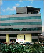 ICICI OneSource building in India