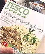 a Tesco products