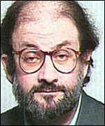 The writer Salman Rushdie