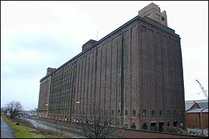 The Granary, before demolition work began