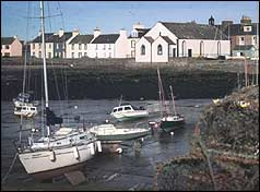 View of harbour at Whithorn