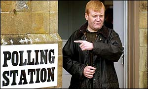 Charles Kennedy during the 2001 general election