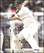 Steve Waugh against Werst Indies in 1999