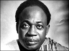 Kwame Nkrumah, prime minister of Ghana
