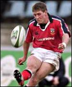 Ronan O'Gara was back from Ireland duty