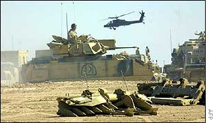 US forces in Kuwaiti desert