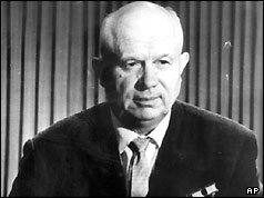 USSR President Nikita Khrushchev