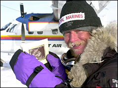 Alan Chambers at the North Pole