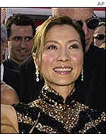 Chinese actress Michelle Yeoh