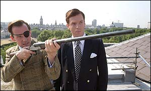 Roland Moxley - Nemesis (Ben Miller) and Jeffrey Archer (Damian Lewis)